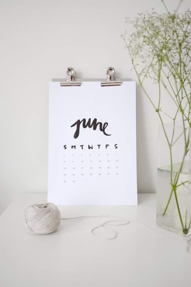 Calendar Diy Tumblr : Diy clipboard calendar last days of springlast