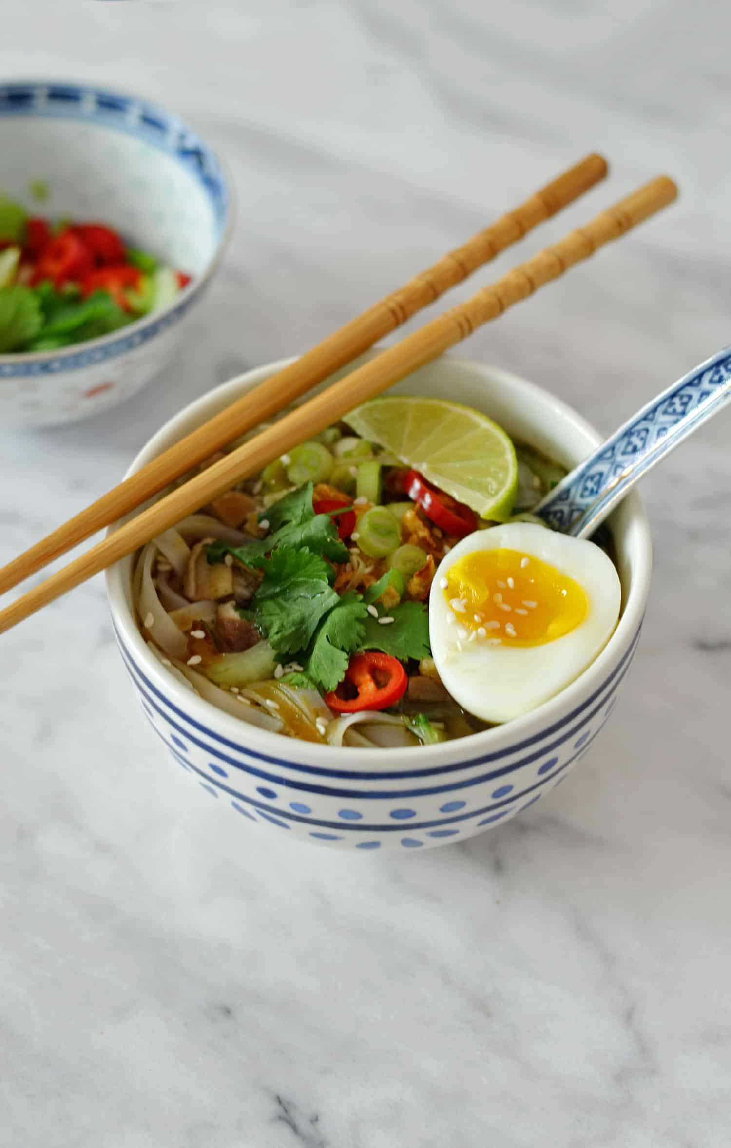Recept: vegetarische Vietnamese noedelsoep (Pho)